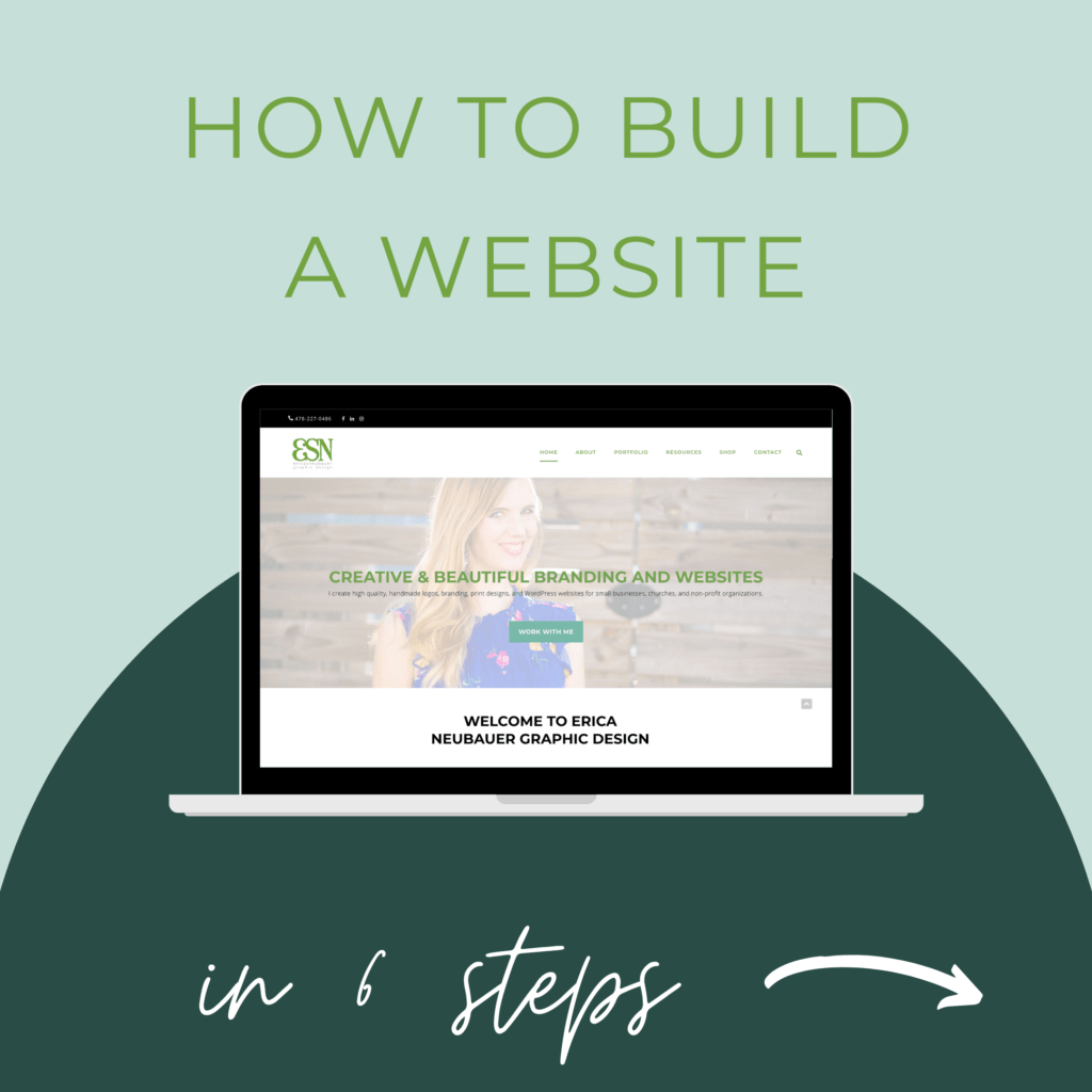 How to Build a Website in 6 steps
